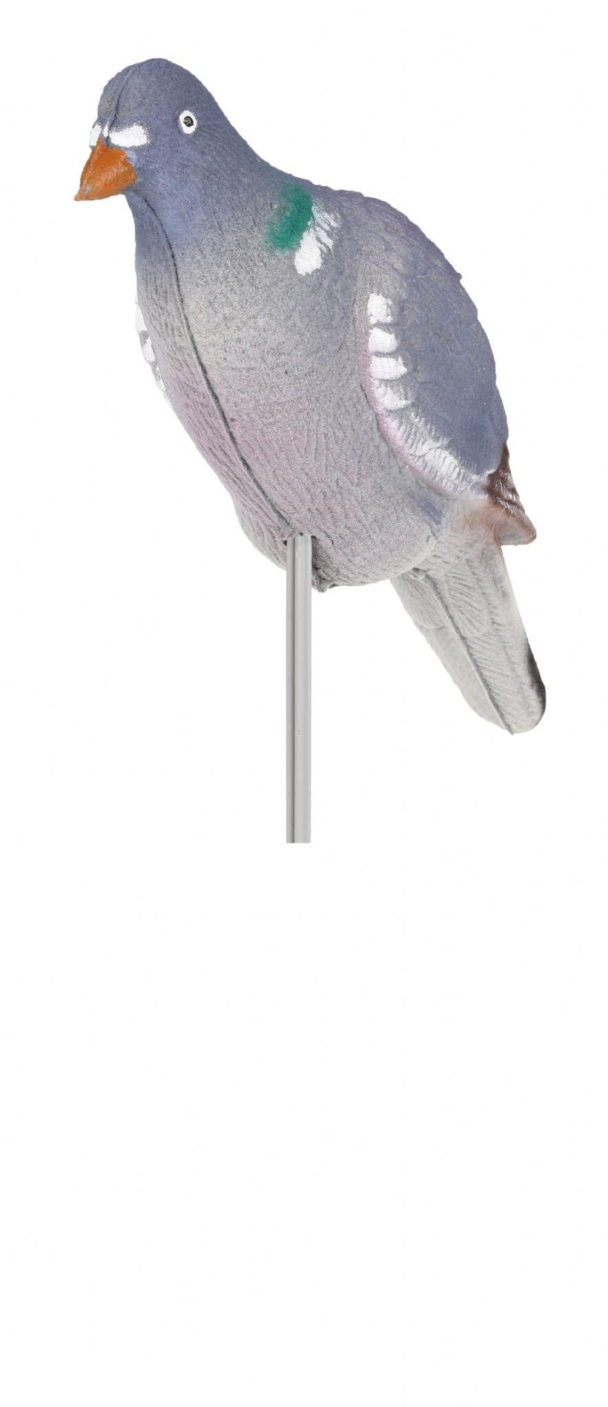 5 X Lightweight Flocked Full Body Pigeon Decoy High Definition + Stick  Decoying
